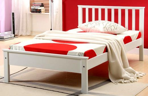 123 Wooden Single Bed