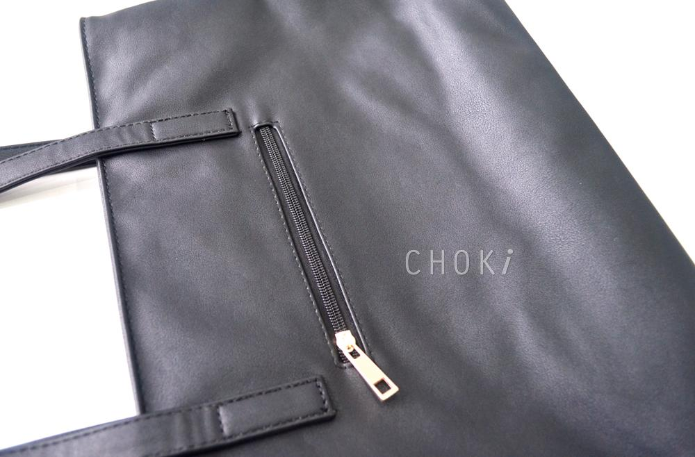 【CHOKI】Korean Classic Handbag with Front Pocket 5160