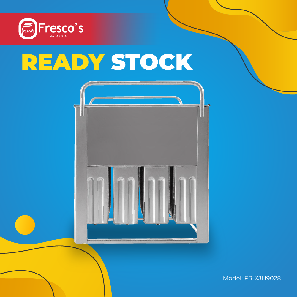 【READY STOCK】 Fresco Popsicle Ice Cream Mould 80ml