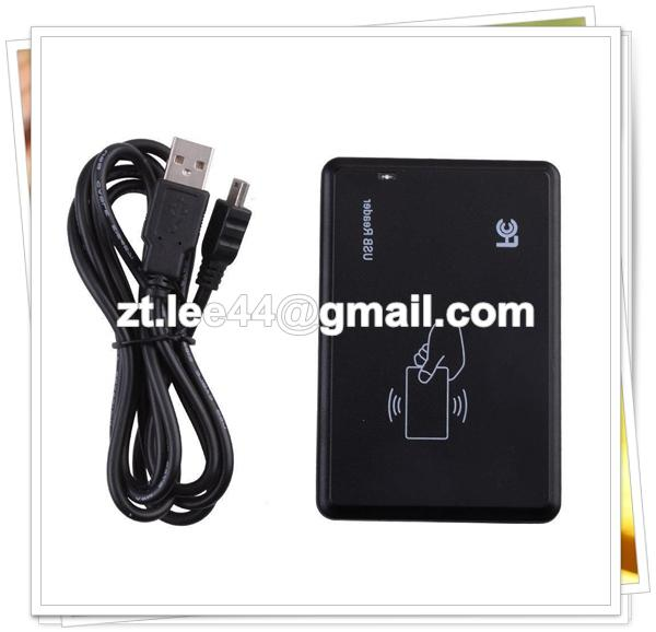 125Khz Card Reader Duplicator Copier Clone 13 56MHz RFID Reader