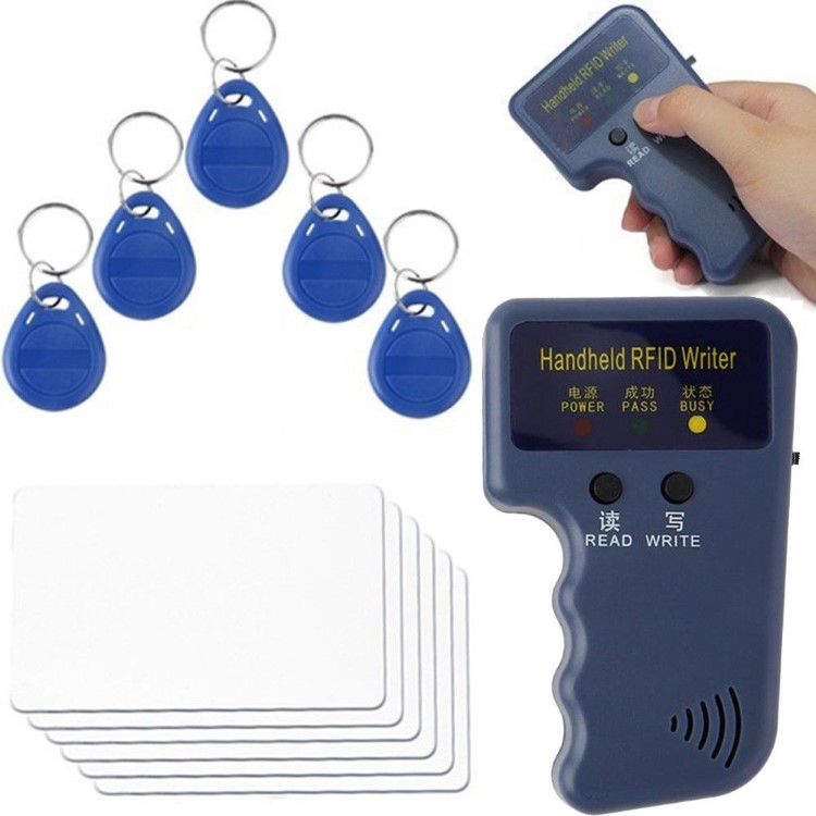 125KHz Handheld RFID Duplicator Key Copier Reader Writer ID Card