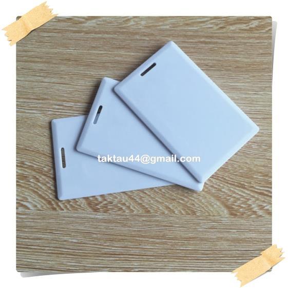 125khz RFID EM4305 Rewritable Card Thick Card - Write and Erase