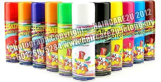 125ml Neulon Colored Hair Spray
