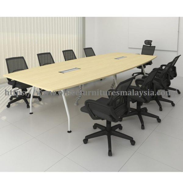 12ft Office Modern Boat Shaped Meeting Table OFMA3615 office furniture