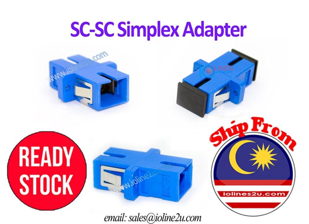 12pcs High Quality Fiber Optic SC to SC Joint Adapter Simplex Coupler SC-SC  Un