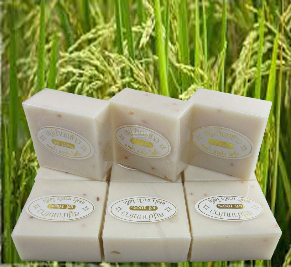 12pcs K Brothers Original Rice Milk Soap