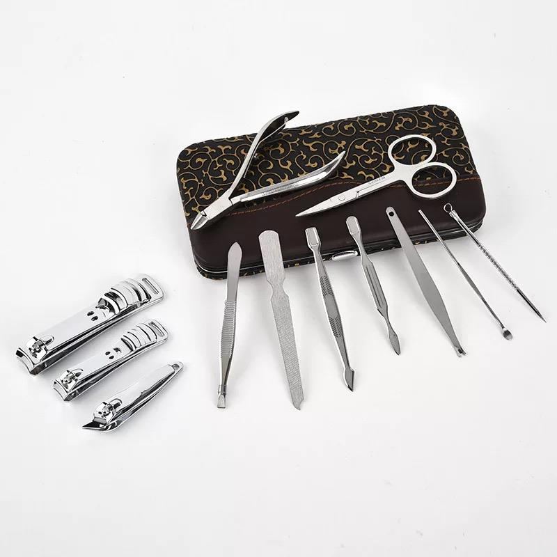 12PCS Nail Clipper Manicure Pedicure Nail Care Set Travel Pack Kit Set