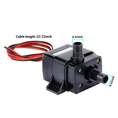 12v 5w Brushless DC Water Pump Mini Submersible Water Pump 240L/H