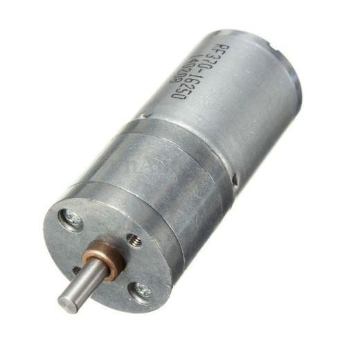 12V DC 60RPM Powerful Torque Micro Speed Reduction Gear Motor