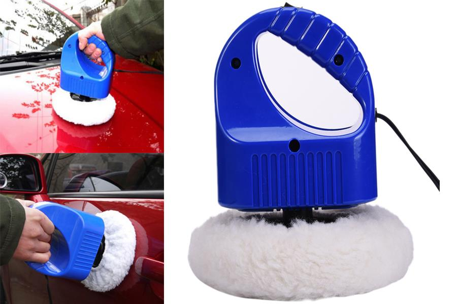 12V Mini Portable Car Polisher Care Cleaner Waxing Polishing Machine