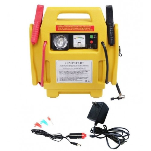 Portable Car Jump Starter >> 12v Portable Car Jump Starter Air Compressor Battery Start Booster