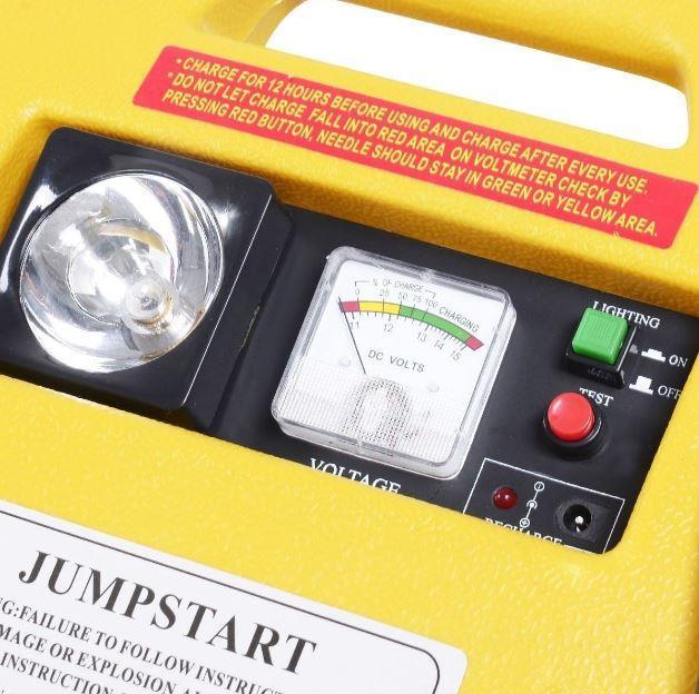 12V PORTABLE CAR JUMP STARTER AIR COMPRESSOR BATTERY START BOOSTER