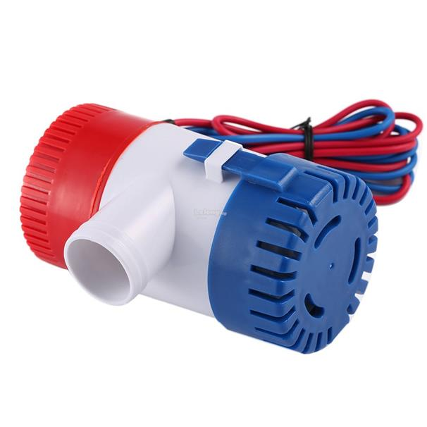 12V Vacuum Water Pump Submersible Marine Boat Bilge Pump 1100GPH Water