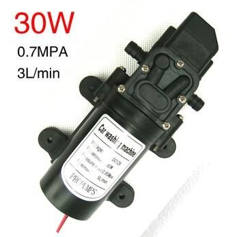 12V Water Pump, Power of 30w, Pressure Switch, Self-Priming