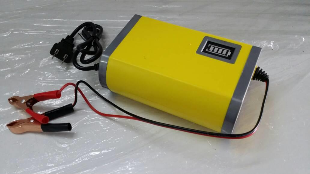 12V6A Auto cut off Battery Charger for Motor/Car use