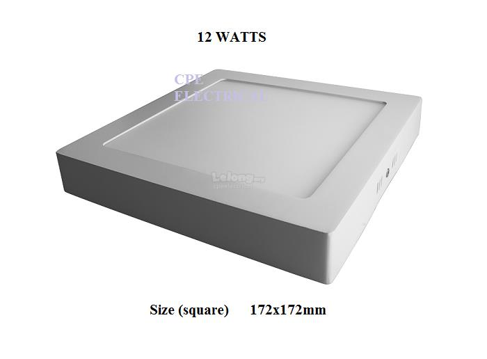 12w surface mount led ceiling down l end 6252019 115 pm 12w surface mount led ceiling down light panel lamp aloadofball Images