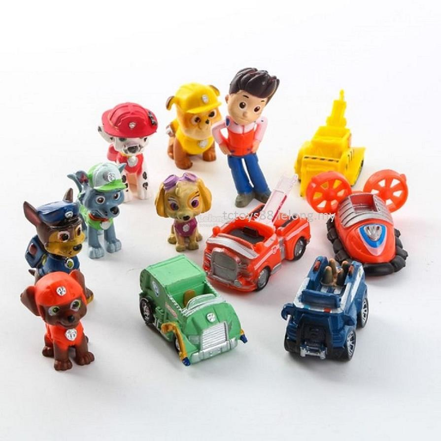 Paw Patrol Toy For Everyone : Paw patrol figurines related keywords