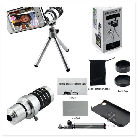 01cbdf8ca 12X Zoom Telescope Mobile Telephoto (end 5 24 2020 9 15 PM)