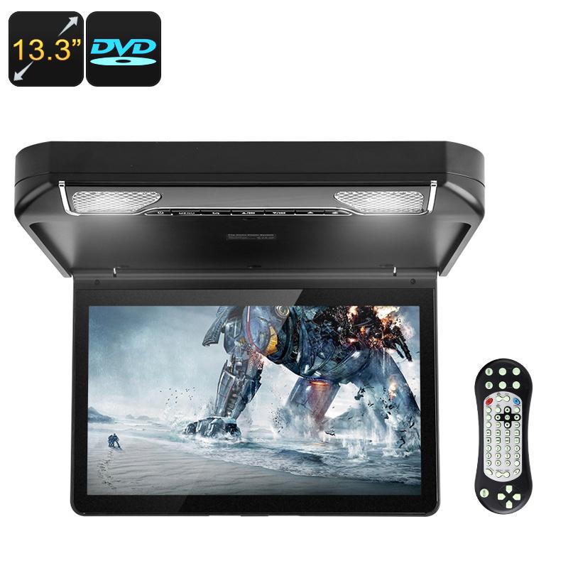 13.3 Inch Car DVD Player   Roof Monitor, HD Resolution, HDMI, AV