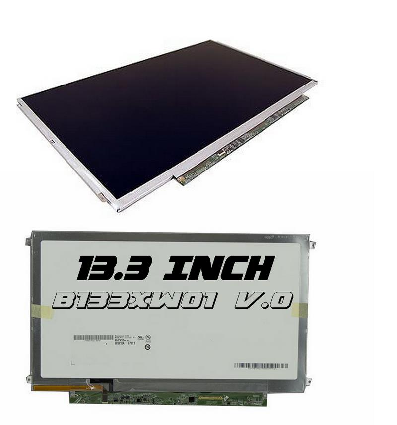 NEW ~ 13.3 Inch WXGA HD LED LCD Screen Slim 40 Pin ( B133XW01 V.0 )