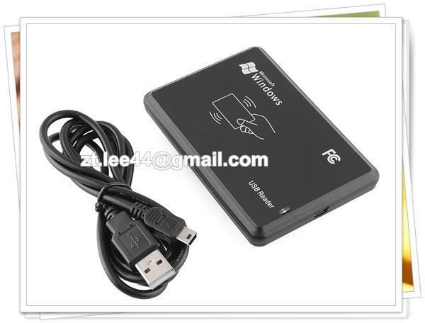 13 56MHz RFID Reader USB Proximity Sensor Smart Card NFC Reader