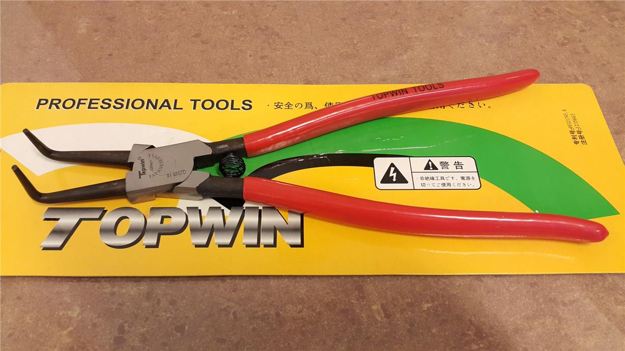 13' RETAINING RING PLIERS INTERNAL(CURVE) ID331123