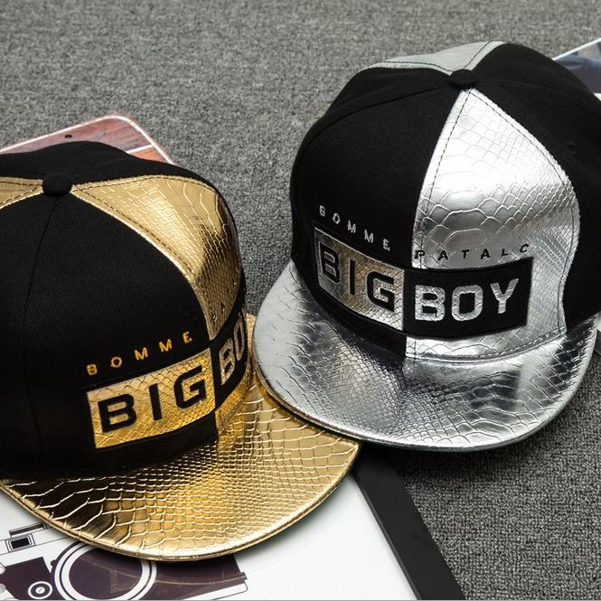 07998da1cf09f ~13 Styles~ Snapback Hip Hop Hats Adjustable Baseball Cap Metallic