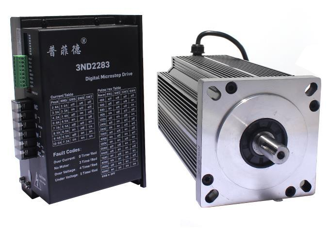 130BYG350D 130 Stepper Motor with 3ND2283-DSP Driver Set