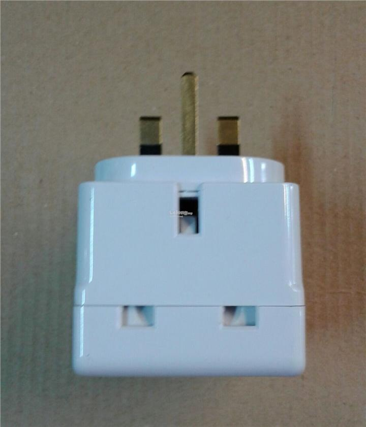 13A 3-WAY SIRIM ADAPTOR WITH NEON