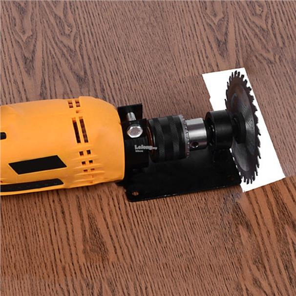 13mm Electric Drill Cutting Holder Polishing Grinding Bracket Seat Sta
