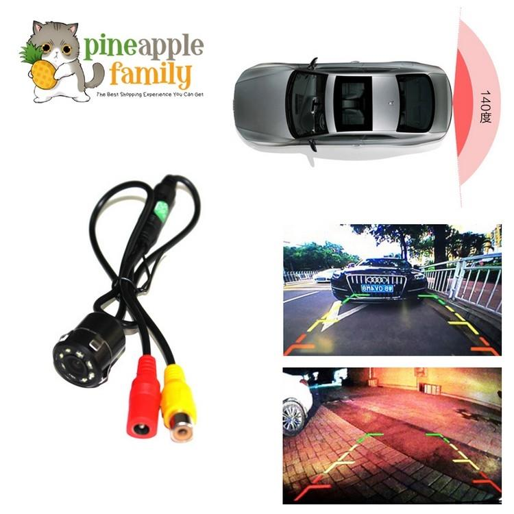 Exterior Careful 7 Led Night Vision Car Rear View Reverse Backup Parking Camera Cmos Waterproof