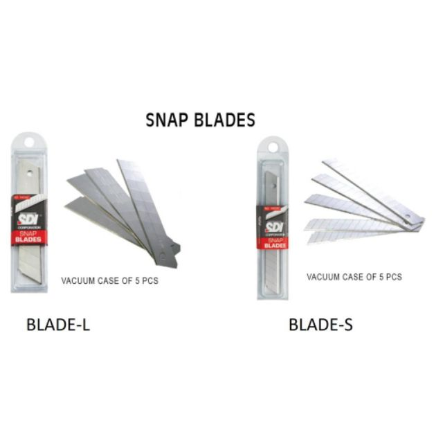 1403C - SDI Snap Blade Small Size / Refill For SDI Small Cutter Knife