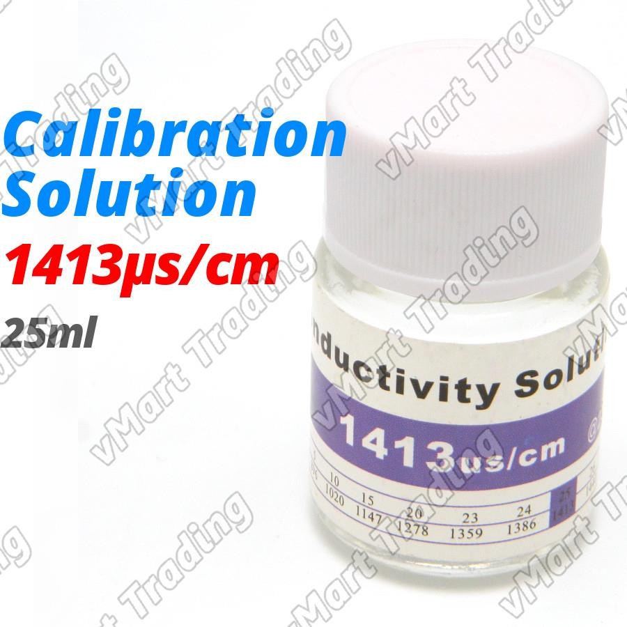 1413 µS/cm EC TDS Salinity Calibration Solution