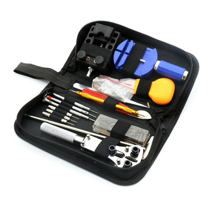 147 Pcs Professional Watch Repair Kit Tool Set with Carrying Case
