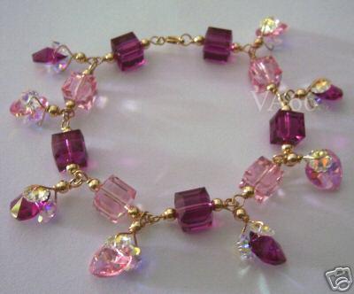 14K Gold Swarovski Crystal Bracelet (end 4 25 2019 11 22 PM) 1acdf34ec7