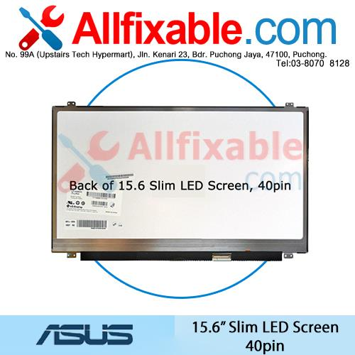 15.6' Slim LED LCD Screen Asus A56 B53 E56 K56 U50 U52 U53 S56 UL50