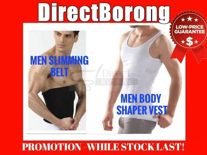 15.99 ONLY Men Slimming Slim Singlet Vest Belt Slim n Body Fit Shaper