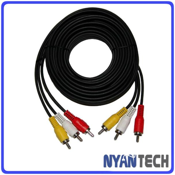15 Meter 3 RCA to 3 RCA Cable For DV (end 6/22/2019 9:15 PM)
