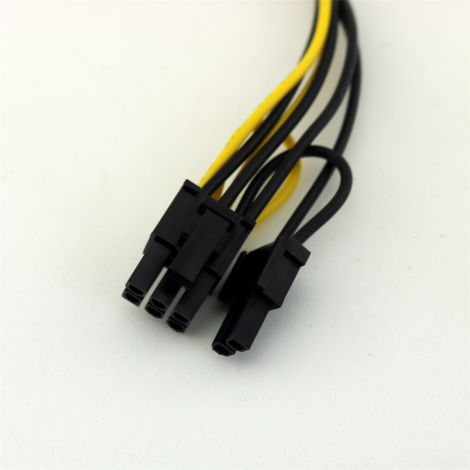 15 Pin SATA Male to ( 6+2 ) 8 pin PCIE Female Power Converter Cable