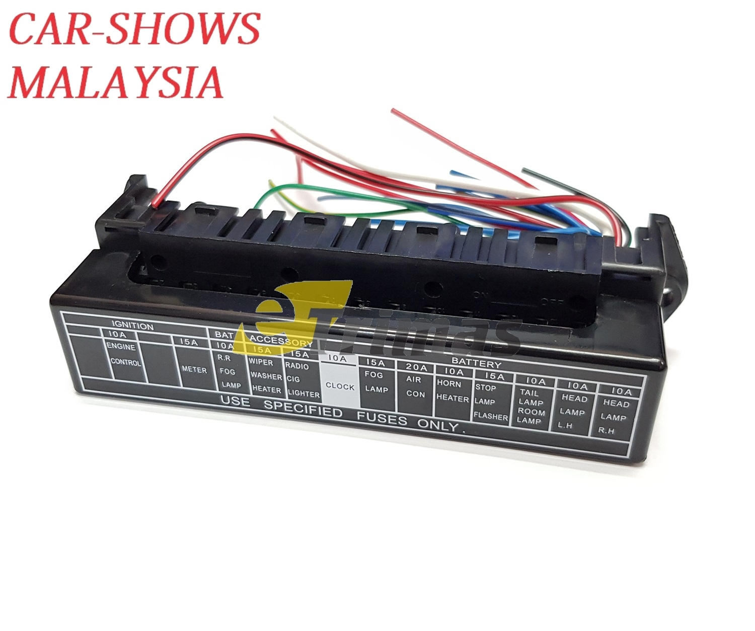 Fuse Box Price Malaysia Simple Wiring Diagram Car Prices Library Vehicle 15 Poles Automotive Plug In Block