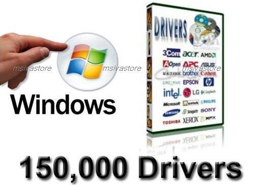 150,000 Windows Drivers in DVD for PC,Laptop.Dell,HP,Compaq,IBM,Acer..