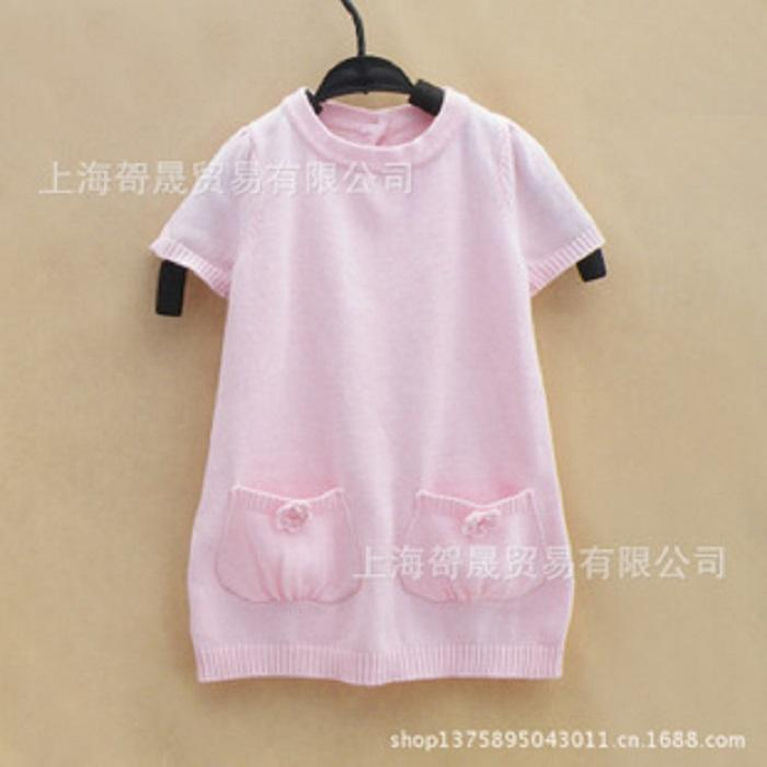 150-1042: Kids Gymboree 100% Cotton KNIT TOP DRESSS