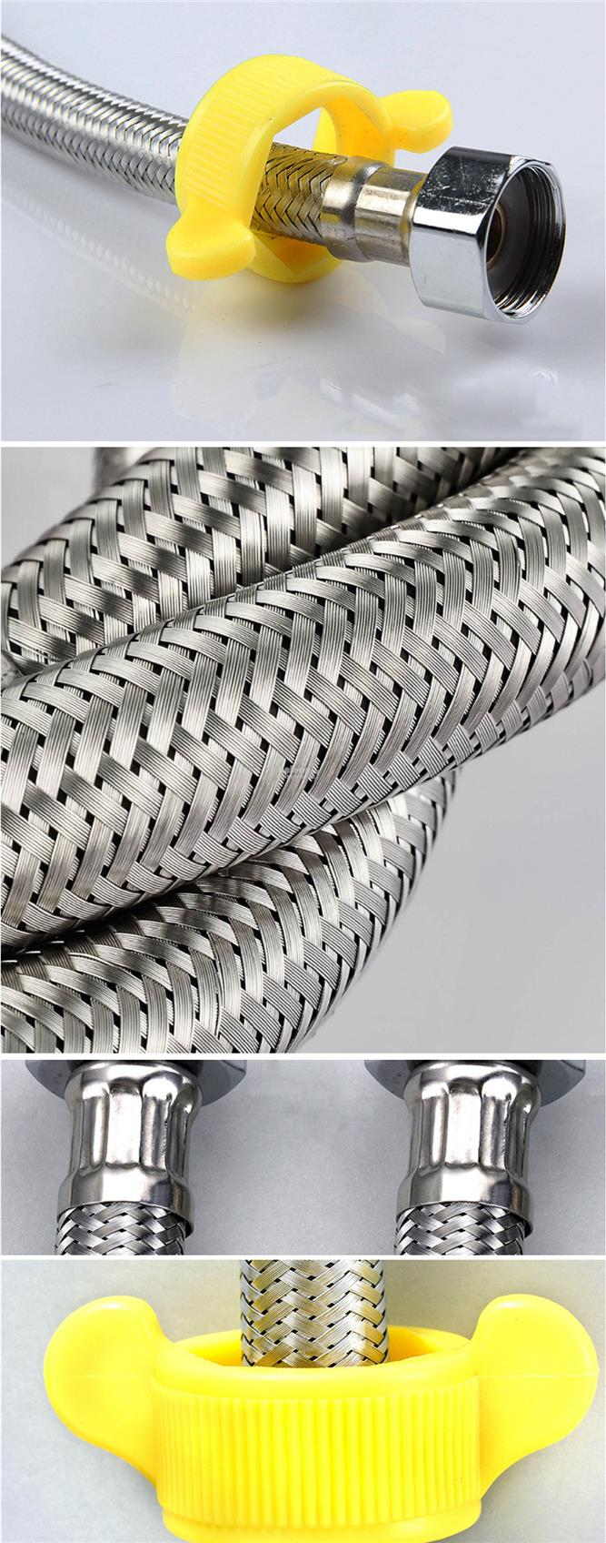 150cm 1.5m Stainless Steel High Pressure Flexible Water Hose