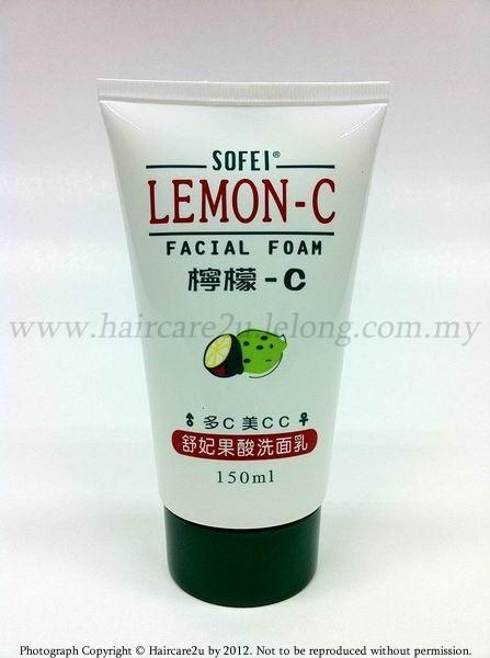 150ml Sofei Lemon-C Facial Foam