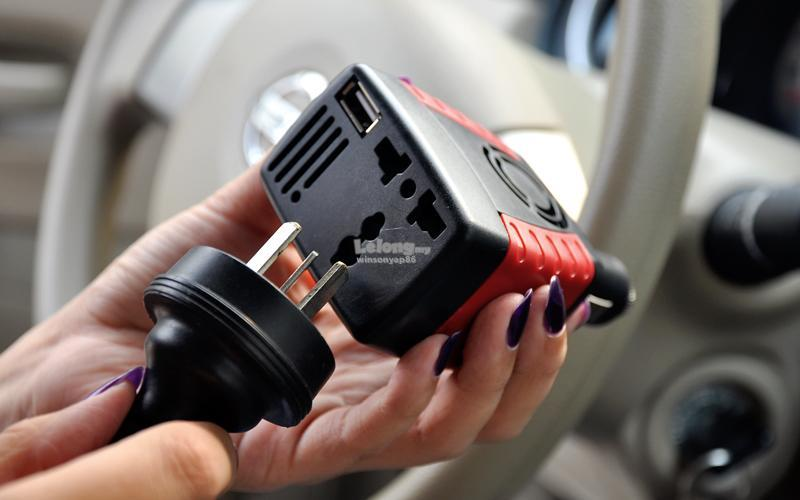 150W Car Power Inverter 12V DC to 220V AC + 5V USB Port