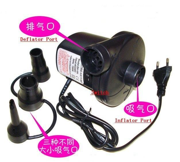 150W High Power Inflator & Deflator Electric Air Pump