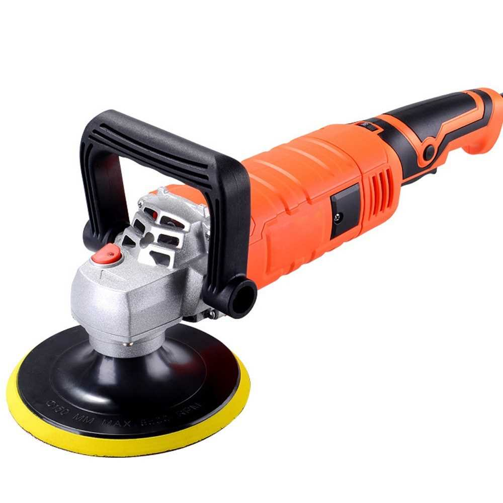 1580W 220V Adjustable Speed Car Electric Polisher Waxing Machine Automobile Fu
