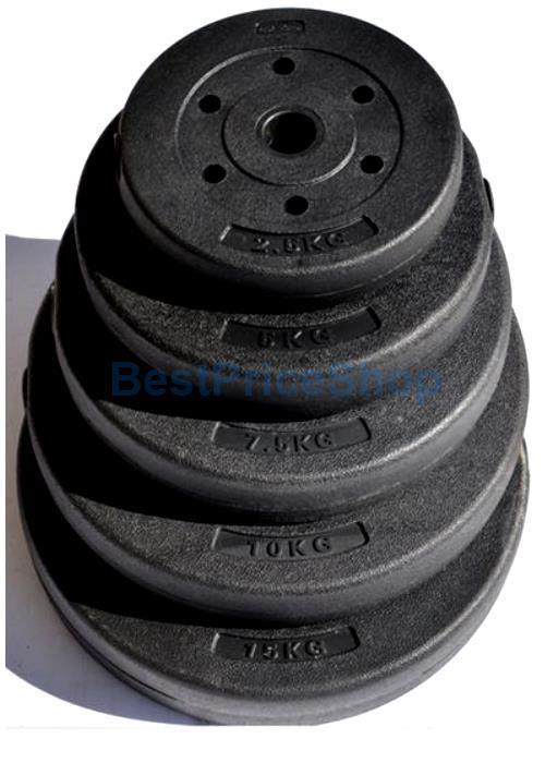15kg High Grade Bumper Dumbbell Weight Plate Barbell Plates