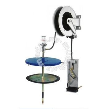 "15M* 1/4"" GREASE HOSE REEL. GREASE TRAY. ID227932"