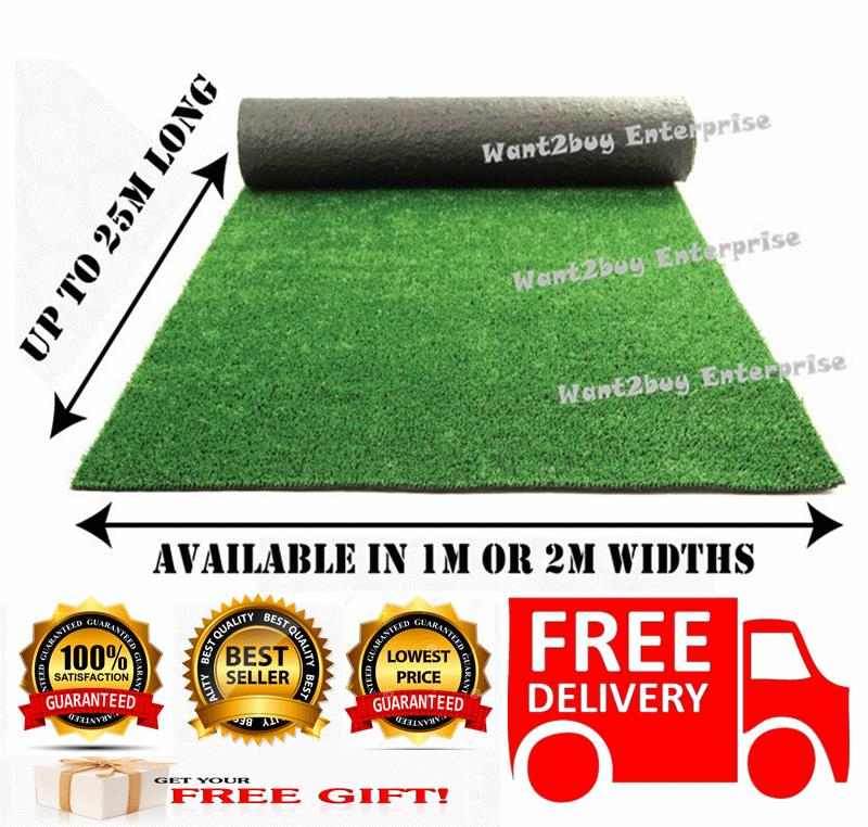 15MM Artificial Fake Synthetic Grass Diy Garden Balcony Wall 1M X 1M
